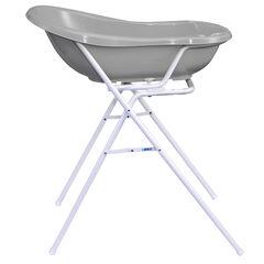 Support en métal pour baignoire Bébé - Blanc
