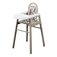 Chaise haute Lili - Gris Clair