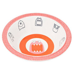 Bol mélamine/silicone Little Monsters - Mad Mabel