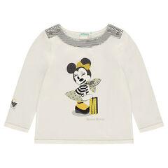 Tee-shirt manches longues esprit marin print Disney Minnie