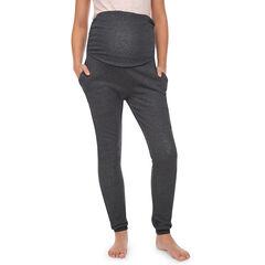 Pantalon de grossesse homewear doublé sherpa