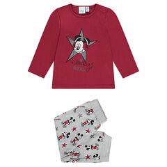 Pyjama en jersey Disney print Mickey