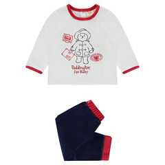 Pyjama en velours print ©Paddington