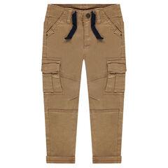 Pantalon en twill à poches