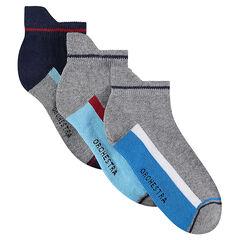 Lot de 3 paires de chaussettes courtes