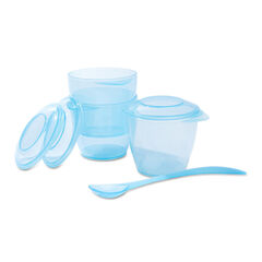 Set de repas fluo - Bleu