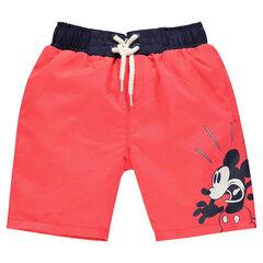 Bermuda de bain uni Disney print Mickey