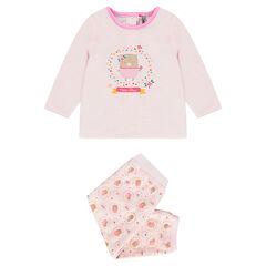 Ensemble de pyjama en velours adapté en fonction de l'âge