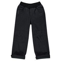 Pantalon coupe droite avec doublure micropolaire