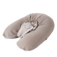Coussin de maternité Multirelax jersey coton – Taupe/Ficelle