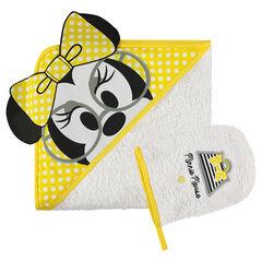 Set de bain en éponge brodé Disney Minnie
