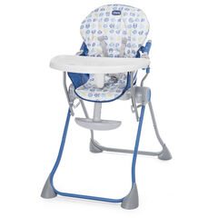 Chaise haute Pocket Meal - Blue