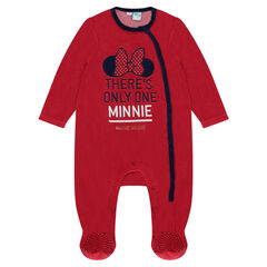 Dors-bien en velours Disney Minnie