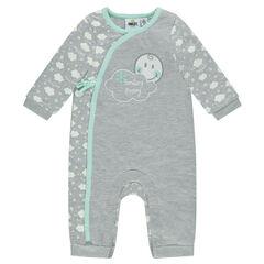 Combinaison en jersey ©Smiley Baby print nuages