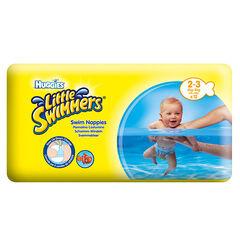 Set de 12 couches de natation jetables Little Swimmers Taille 2/3 - Jaune