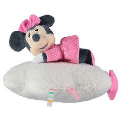 Peluche musicale Disney Minnie en velours et sherpa