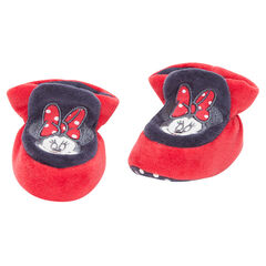Chaussons en velours Disney Minnie