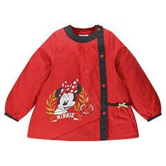 Tablier manches longues Disney print Minnie avec poche