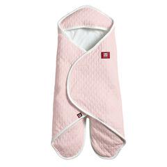 Couverture à emmaillotter Babynomade légère 6-12 mois - Powder Pink