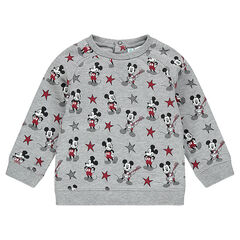 Sweat en molleton avec Mickey imprimé all-over