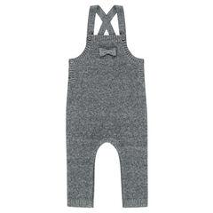 Salopette longue en tricot