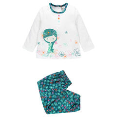 Pyjama imprimé et print fantaisie adapté à l'âge