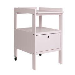 Table à langer Cindy + Tiroir Soft Close - Rose