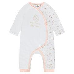 Combinaison longue en jersey print ©Smiley Baby