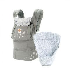 Porte bébé Original + coussin - Galaxy Grey