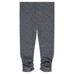 Legging en molleton fin imprimé Disney Minnie