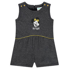 Combi-robe évasée en molleton avec broderie Disney Minnie
