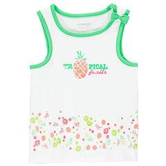 Débardeur jersey print fruits