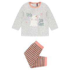 Pyjama long en velours spécial Halloween adapté en fonction de l'âge