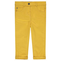 Pantalon slim en twill uni