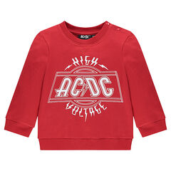 Sweat en molleton avec inscription printée ACDC®