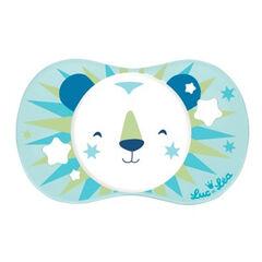 Sucette symétrique +6 mois – Lion