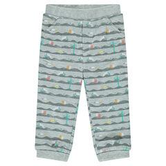 Pantalon de jogging imprimé fantaisie