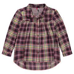Chemise liquette à carreaux
