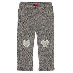 Pantalon en molleton fantaisie