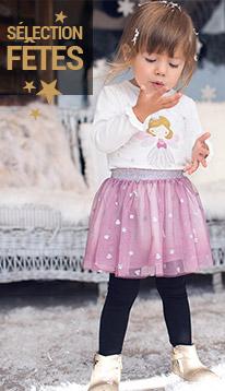 tenues de fetes à petits prix bébé fille 2017 Orchestra