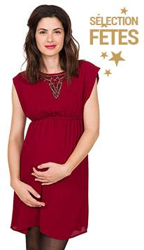 Tenues de fetes à petits prix maternité future maman 2017 Orchestra