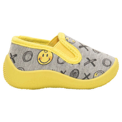 Chaussons bas avec imprimé ©Smiley all-over