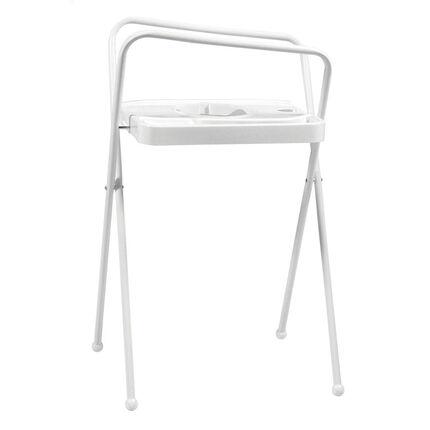 Support de bain 103 cm - Blanc