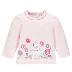 Sweat en molleton avec print Marie Aristochats ©Disney