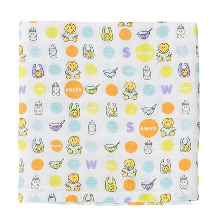 Set de 3 langes Smiley Baby 70 x 70 cm