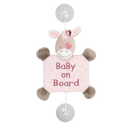 Bébé à bord - Jade la licorne