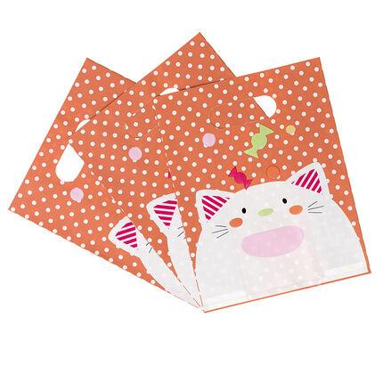 Lot de 10 sacs bonbons anniversaire motif chat orchestra fr - Sac bonbon anniversaire a fabriquer ...