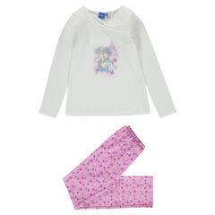 Pyjama long en jersey et molleton Disney La Reine des Neiges