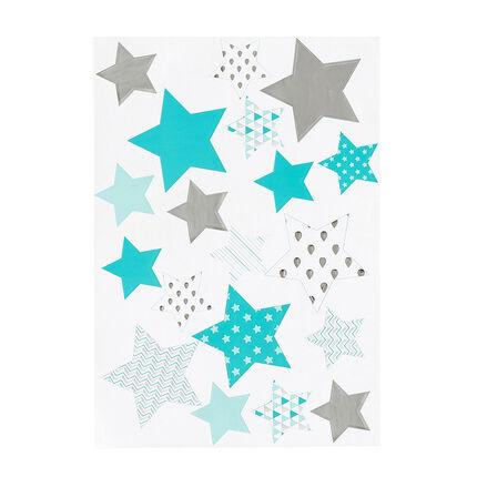 Stickers étoiles imprimées