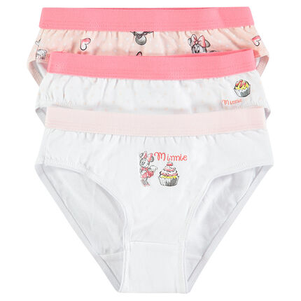 Lot de 3 culottes Disney Minnie